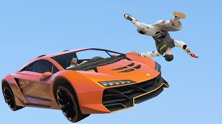 RUNNERS vs. SUPERCARS! (GTA 5 Funny Moments)