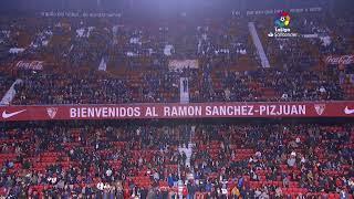 Calentamiento Sevilla FC vs Villarreal CF
