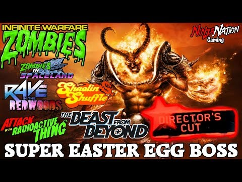"DIRECTORS CUT ""SUPER EASTER EGG BOSS""   CALL OF DUTY: INFINITE WARFARE ZOMBIES ☯SUB4LUCK☯"