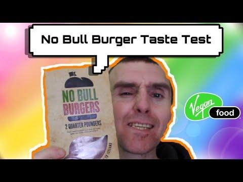 ICELAND SUPERMARKET- NO BULL BURGERS TASTE TEST