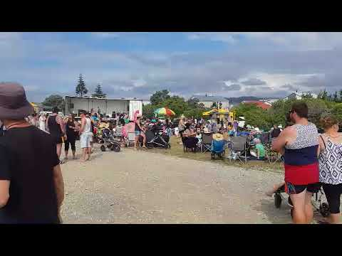 Christmas on the beach 2017 Hokitika NZ