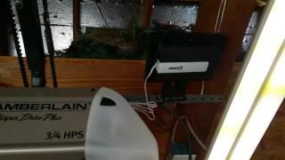 gocontrol linear gd00z 4 z wave garage door opener remote controller connected to smartthings