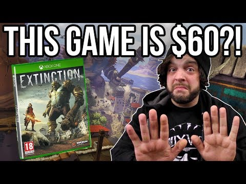 EXTINCTION Review for Xbox One and PS4 - $60 for THIS? | RGT 85