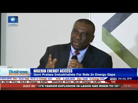 Nigeria Energy Manufac. Dialogue On Eligible Customers Framework |Business Incorporated|