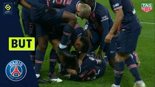 But Idrissa GUEYE (88' - PSG) PARIS SAINT-GERMAIN - RC STRASBOURG ALSACE (4-0) 20/21