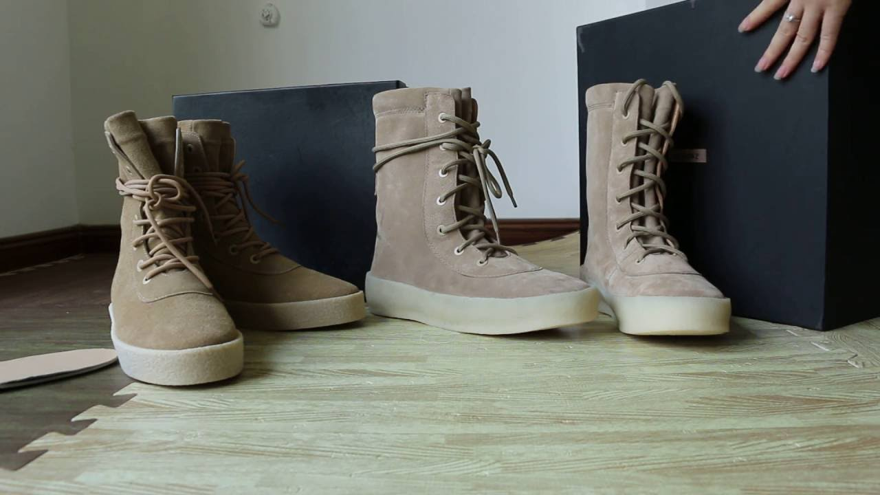 ed9140f4d Real VS Fake Yeezy Season 2 Boot HD by gogoyeezy.cn - YouTube