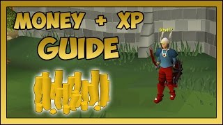 OSRS - Gold making + XP farming guide 2015 in OSRS [Members only]