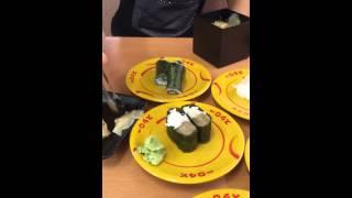 Суши в Японии. Сеть ресторанов  スシロ