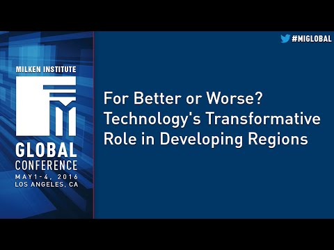 For Better or Worse? Technology's Transformative Role in Developing Regions