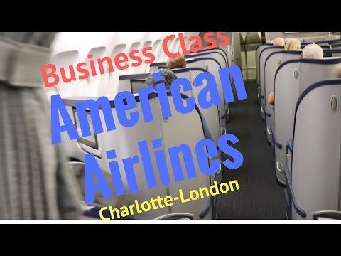 American Airlines Business Class A330-300 | Charlotte - London | Bonus: American Eagle & BA 2017