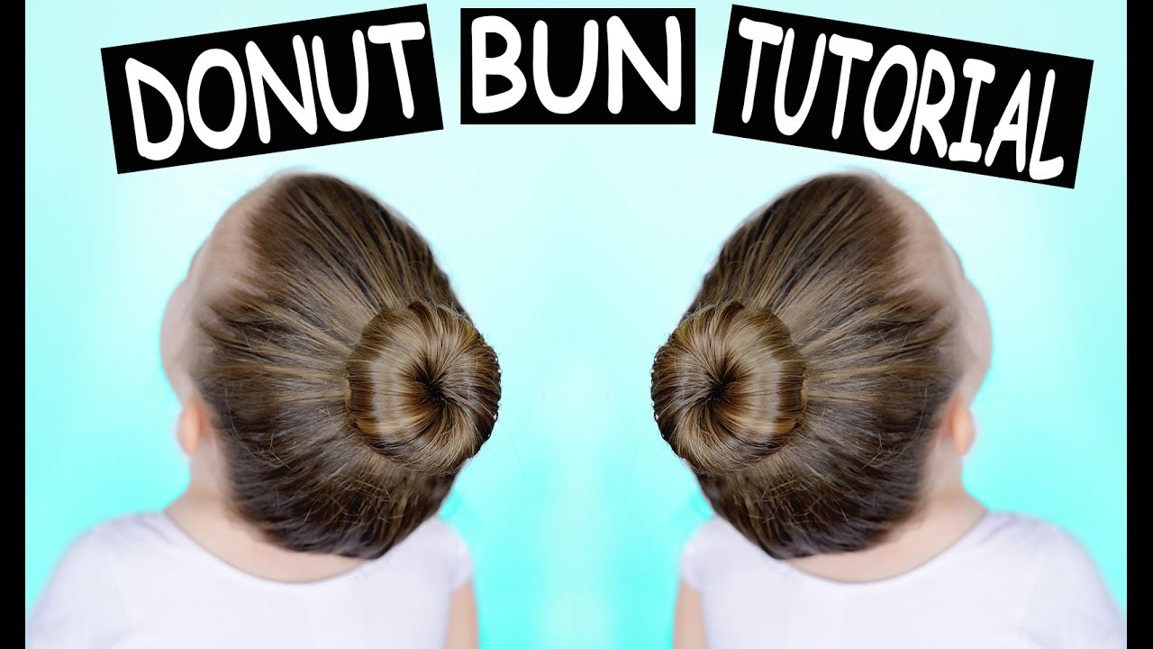 Donut Bun Hair Tutorial How To Make A Perfect Ballet Bun Youtube