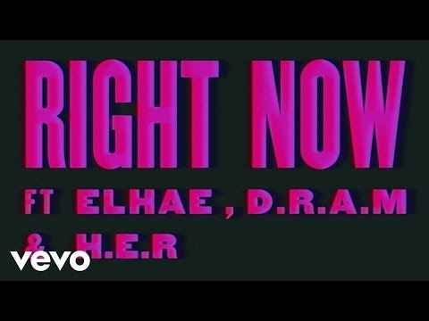 Snakehips - Right Now (Lyric Video) ft. ELHAE, D.R.A.M., H.E.R.