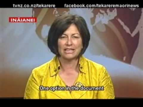 Hekia Parata shares her thoughts on the Seabed and Foreshore Act