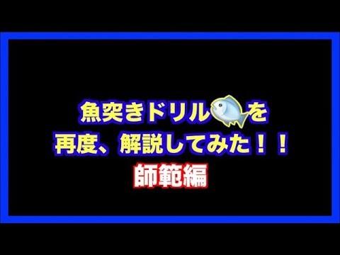 【永久保存版】魚突きドリルについて再度・解説してみました!!〜師範編〜