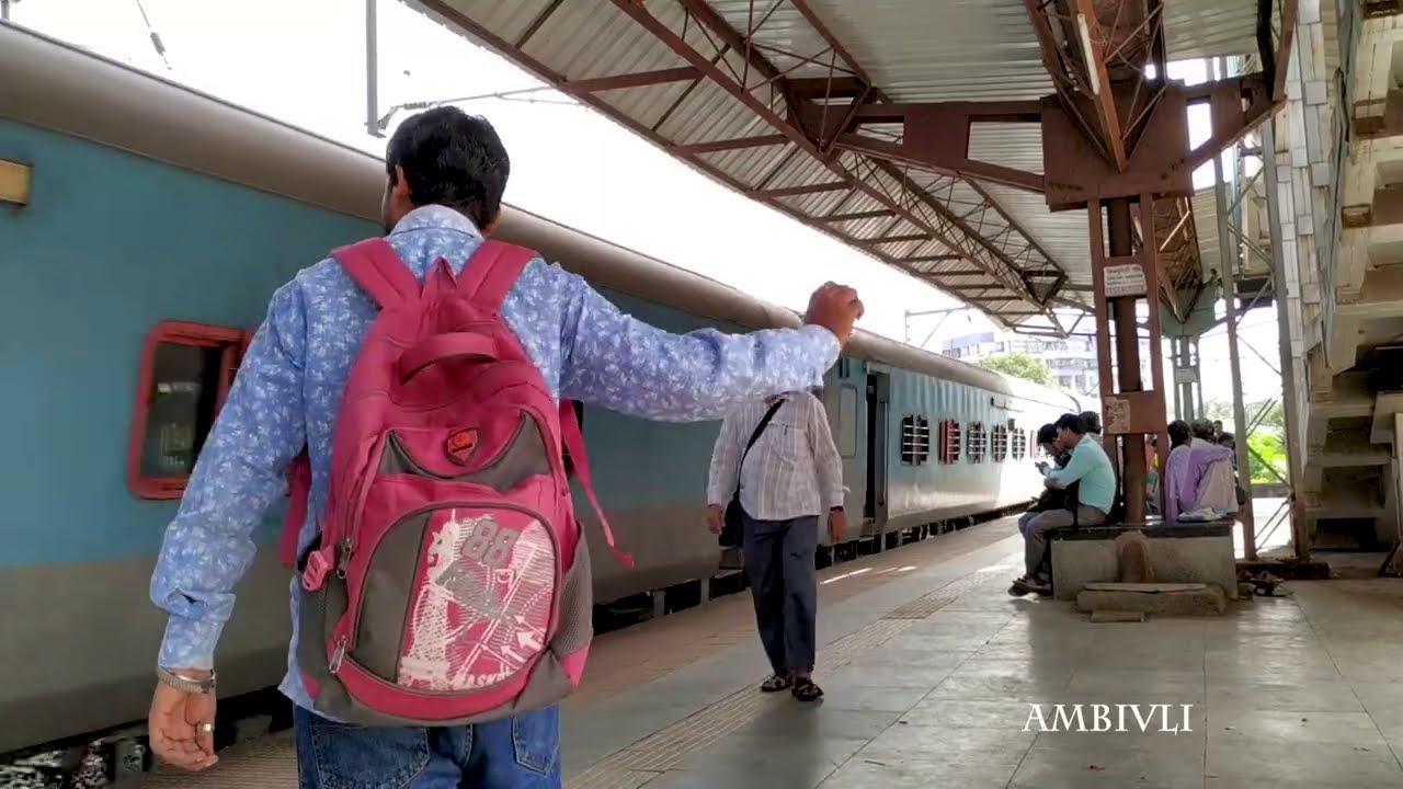 Mumbai Local Train Stations Super Fast Express Trains Passing Mumbai Max.