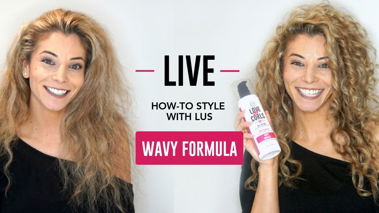 How to Style with LUS Brands Wavy *LIVE*!