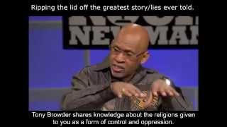 Tony Browder ripping the lid off Religion