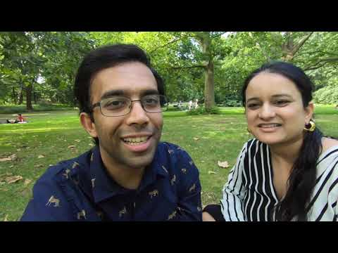 vlog#1 | Indian Couple in Germany | Introduction | Weekend in Berlin