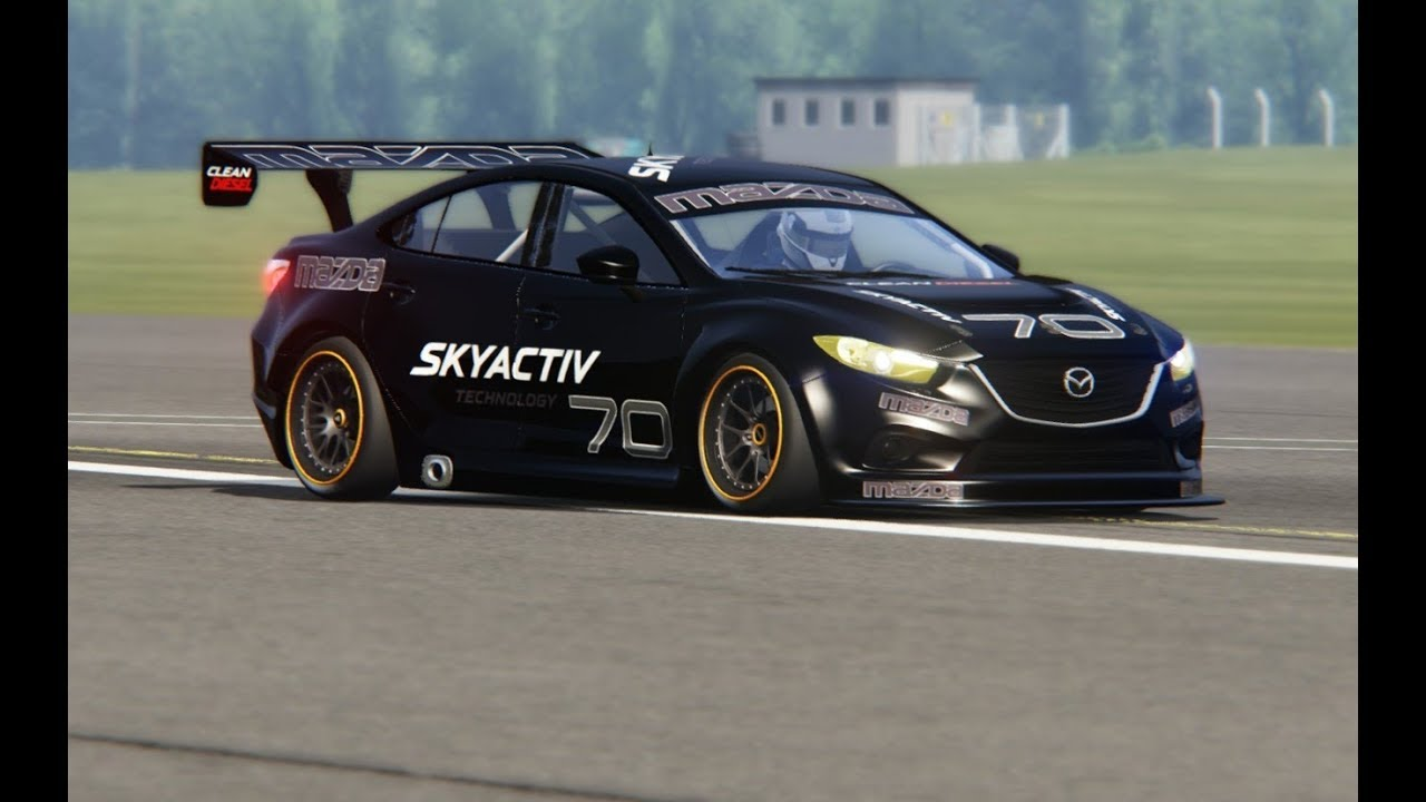 Mazda 6 Race At Top Gear Testing Youtube
