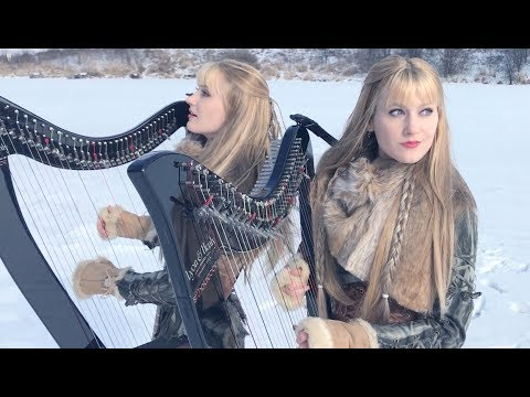 Immigrant Song – LED ZEPPELIN Harp Twins Camille and Kennerly
