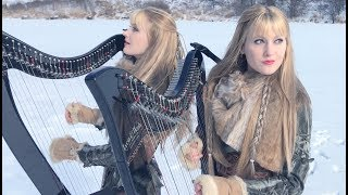 Immigrant Song – LED ZEPPELIN (Harp Twins) Camille and Kennerly