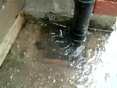 & drain overflowing with sewage. Welsh Water / Dwr Cymru - YouTube