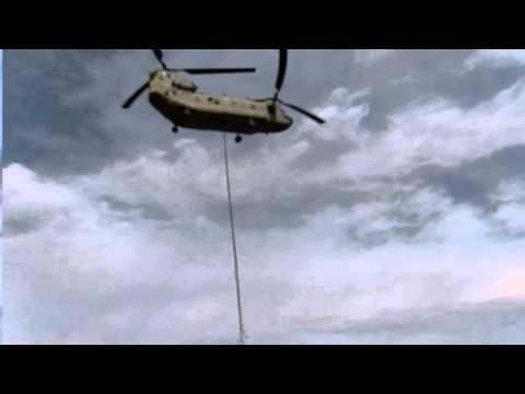 CH-47F water bucket
