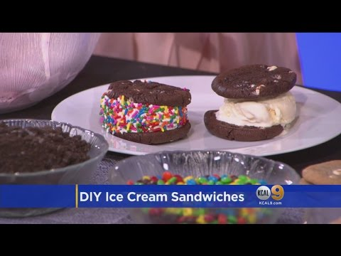 Celebrate National Ice Cream Month With An Ice Cream Sandwich