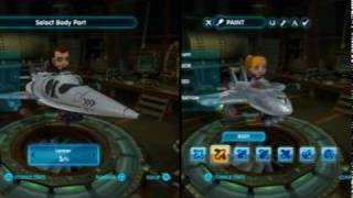 MySims SkyHeroes - Customize gameplay video