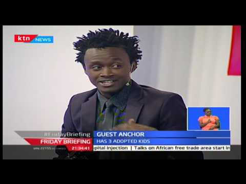 KTN Friday Briefing September 16 2016: Guest Anchor; Mama hit famed Kevin Bahati
