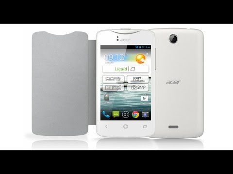 Acer Liquid Z3 Hard Reset and Forgot Password Recovery, Factory Reset