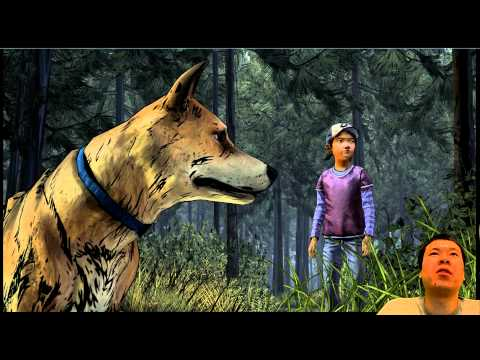The Walking Dead Season 2 Ep 1 - Clementine tries to burn Lee's picture