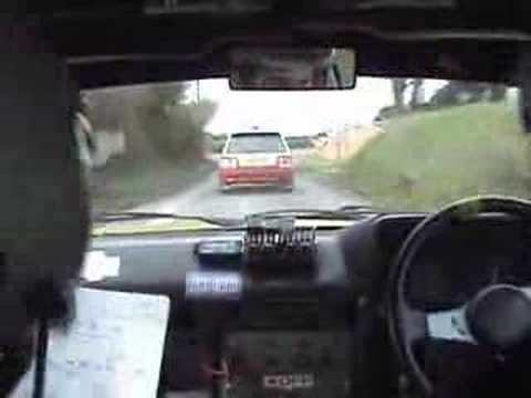 HILARIOUS FUNNY IRISH RALLY IN-CAR 2008