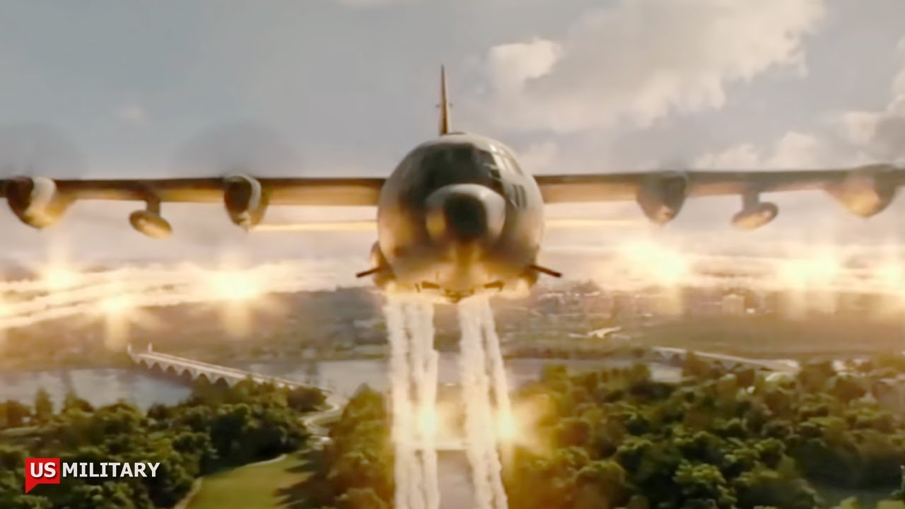 This America's AC-130 Destroyed Gunship Shocked China and Russia