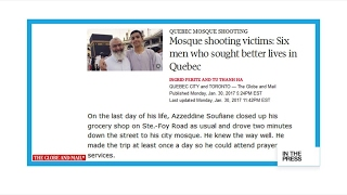 'Mosque shooting victims  Six men who sought better lives in Quebec'