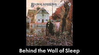 Black Sabbath - Behind the Wall of Sleep (lyrics)