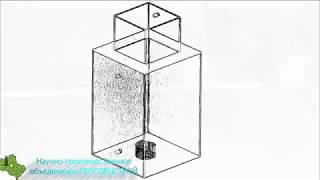 видео Металлический кессон: изготовление и установка своими силами