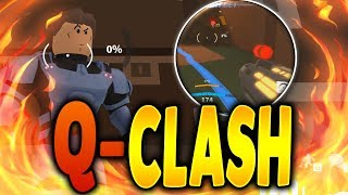 Q-CLASH IS FINALLY FREE TO PLAY! | Overwatch in Roblox | iBeMaine