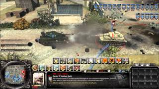 Company of Heroes 2: Sherman Firefly vs Pz4