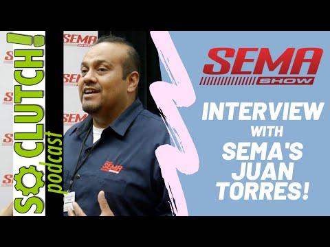 Juan Torres Of SEMA Talks Automotive's Best Trade Show!