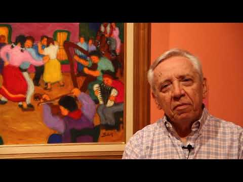 "<h3 class=""list-group-item-title"">""Oscar Sar. Un pintor de raza"" en el MBQM</h3>"
