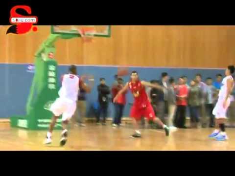Tracy McGrady first team practice in Qingdao Hawks_Slamdunk 1-2-3