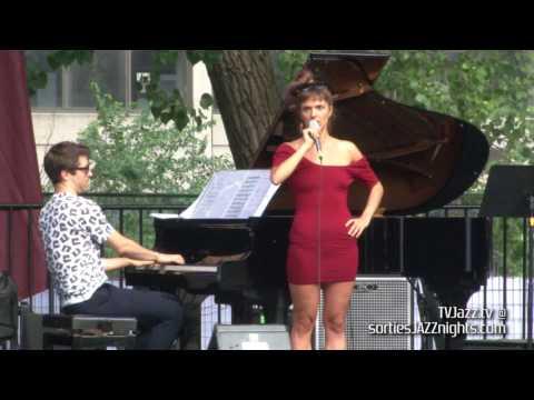 Camille Bertault Dan Tepfer - Je me suis fait tout petit - TVJazz.tv