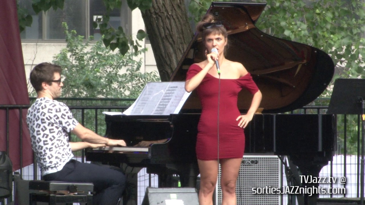Camille Bertault Dan Tepfer | Je me suis fait tout petit | TVJazz.tv