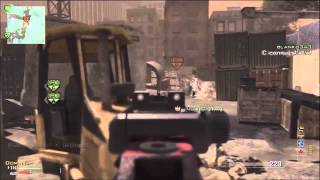 Call of Duty MW3 Italian Commentary MP7 45 2 MOAB   37 gunstreak