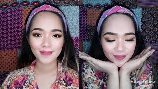 Cover images Gorgeous Soft Smokey Brown Eyeshadow Makeup | Makeup with Jonz