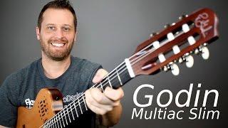 Godin Multiac Slim - The Ultimate Crossover Guitar!