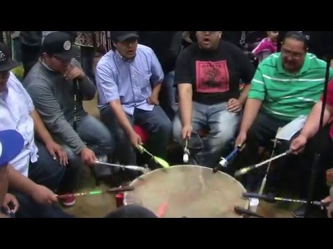 Thunder Hill Singers - Contest Song - Choctaw PowWow 2015
