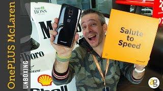 Unboxing ONEPLUS 6t McLaren e TOUR TECHNOLOGY CENTRE
