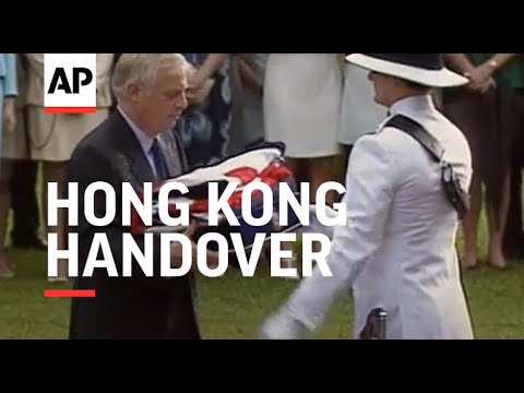 Hong Kong - File material of Hong Kong handover